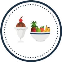 Frutería y helados